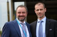 Президент УЕФА официально поблагодарил Андрея Павелко за финал Лиги Чемпионов