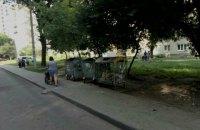 ОГА отчиталась о вывозе мусора почти с половины площадок во Львове