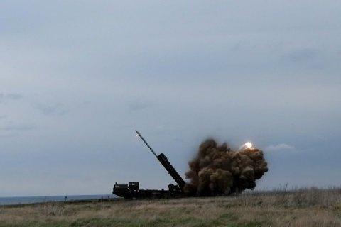 """В Україні випробували ракети """"Вільха-М"""" із дальністю ураження 120 км"""