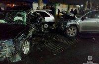 В Мелитополе в ДТП попали 5 автомобилей