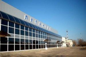 За минулу ніч терористи двічі обстріляли луганський аеропорт, - ІО