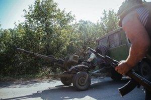 Сили АТО відступили з ряду населених пунктів на Донбасі, - Тимчук