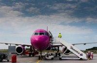 Wizz Air объявил четыре новых рейса из Украины
