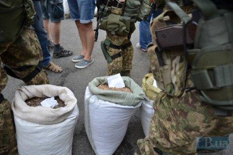 Суд арештував конфісковані тонни бурштину