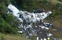 Причиной крушения самолета с футболистами из Бразилии назван человеческий фактор