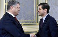 Порошенко провел переговоры с помощником госсекретаря США