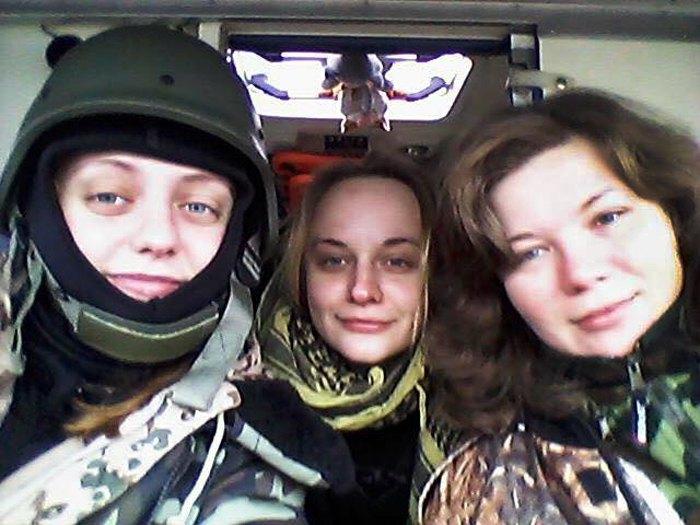 Жінки-солдати з 25 Батальйону Територіальної Оборони