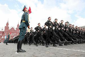 В Москве на Красной площади прошел парад Победы