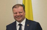 Премьер Литвы: Мы должны и дальше помогать Украине летальным оружием