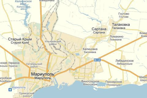 У Мариуполя подорвались шестеро военных, один погиб (обновлено)
