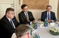 Глава МЗС про річницю Люблінського трикутника: Україна, Польща та Литва ніколи не повернуться до російської сфери впливу