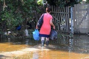 У Криму дощі затопили десятки будинків