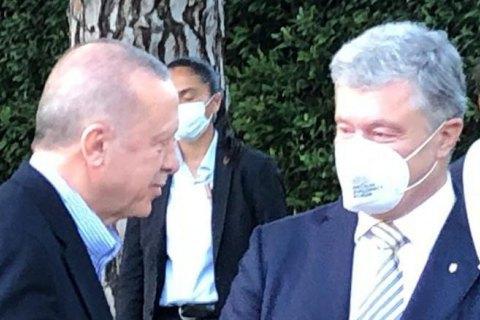 Порошенко встретился с Эрдоганом