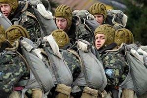 Міноборони хоче зменшити кількість військовослужбовців до 100 тис. осіб