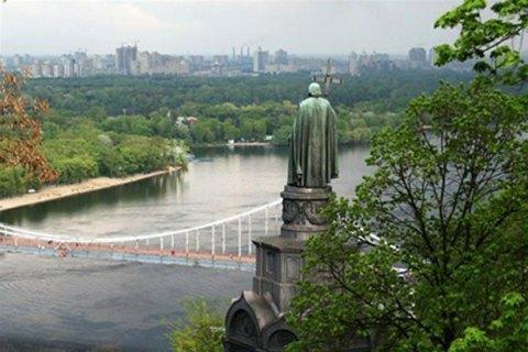 КМДА розпорядилася побудувати пішохідно-велосипедний міст між Хрещатим парком і Володимирською гіркою