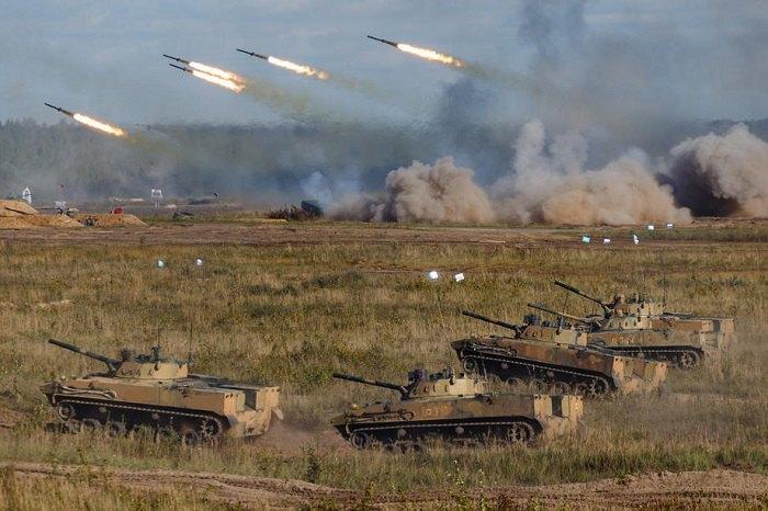 """Спільні російсько-білоруські військові навчання """"Захід - 2021"""""""