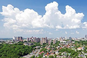 Завтра в Києві очікують короткочасний дощ