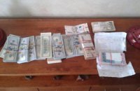У херсонского чиновника нашли при обыске 3 млн гривен (обновлено)