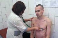 Адвокат: у Сенцова виявлено ураження серця, печінки і нирок