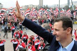 Асад прийшов на молитву в центральну мечеть Дамаска