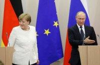 Меркель подзвонила Путіну після розмови із Зеленським