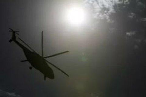 У Каспійському морі розбився іранський вертоліт, весь екіпаж загинув