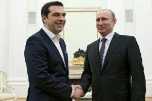 """Путин подтвердил готовность финансировать Грецию для участия в """"Турецком потоке"""""""