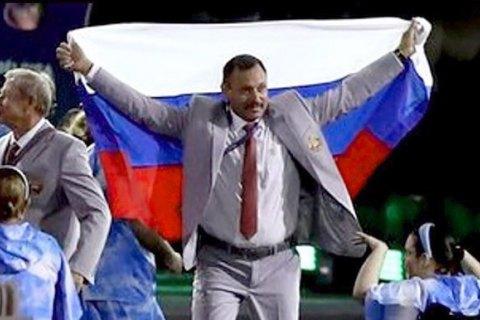 Білоруса позбавили акредитації за прапор Росії на відкритті Паралімпіади