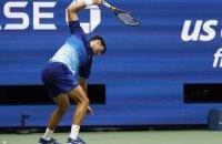 Джоковича оштрафували після фіналу US Open