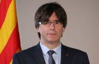 Пучдемон оголосив про запуск нового сайту уряду Каталонської республіки