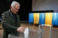 В шести территориальных громадах проходят первые местные выборы