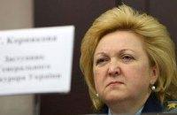Янукович уволил замминистра, заступившуюся за Тимошенко на суде