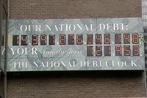 Госдолг США скоро превысит годовой ВВП