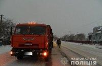 В Тернопольской области КамАЗ наехал на лежавшего на дороге пьяного мужчину