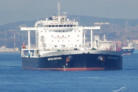 Иранские корабли пытались остановить британский танкер