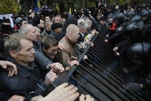 У Могилева считают, что акция протеста возле Рады проплачена