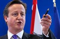 Кэмерон пригрозил РФ усилением санкций