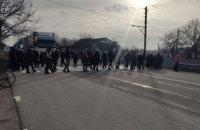 У різних містах України люди влаштували протести через тарифи на газ