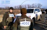 """Наблюдатели ОБСЕ зафиксировали на Донбассе """"обучение боевиков с боевой стрельбой в зоне безопасности"""""""