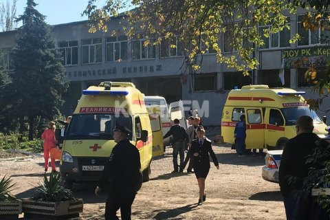 В больницах оккупированного Крыма и в России остаются 16 пострадавших при стрельбе в Керчи