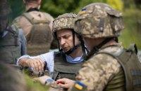 Зеленський побував на передовій в Луганській області