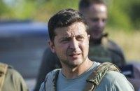 Зеленський перевірив дотримання режиму припинення вогню на Донбасі
