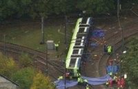 В Лондоне трамвай сошел с рельсов, есть погибшие