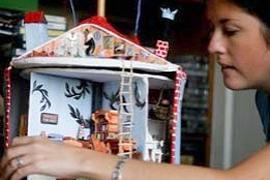 Москвичка построила домик для муми-троллей