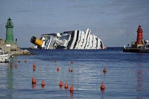 Члени екіпажу Costa Concordia вимагають мільйонних компенсацій