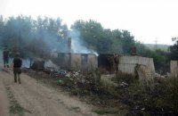 Три дома в Зайцево сгорели из-за обстрела (обновлено)