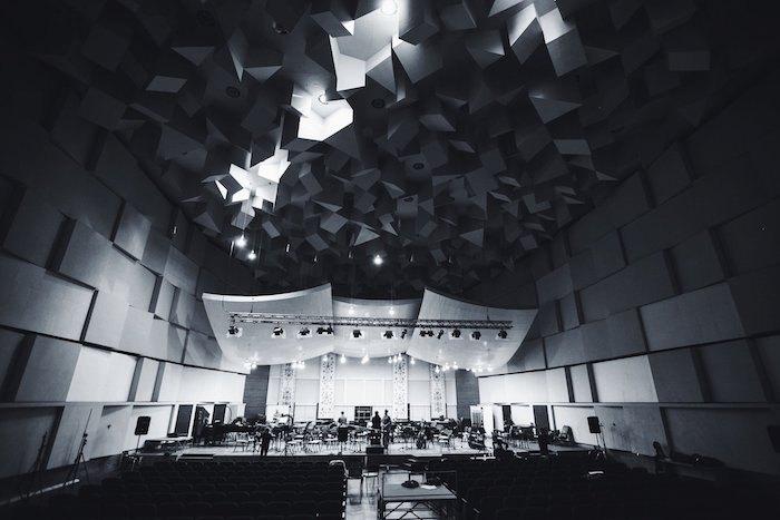 Зал в Доме звукозаписи