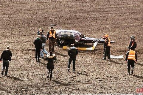 """В Латвии во время ралли """"Лиепая"""" разбился вертолет"""