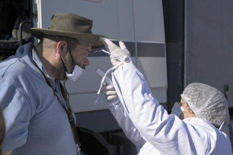 В Украине коронавирус подтвердили у еще 823 человек