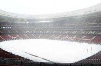 """Мадрид засыпало снегом: матч Ла Лиги """"Атлетико"""" - """"Атлетик"""" перенесен"""